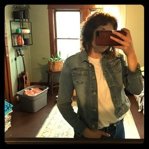 The Limited cropped jean jacket